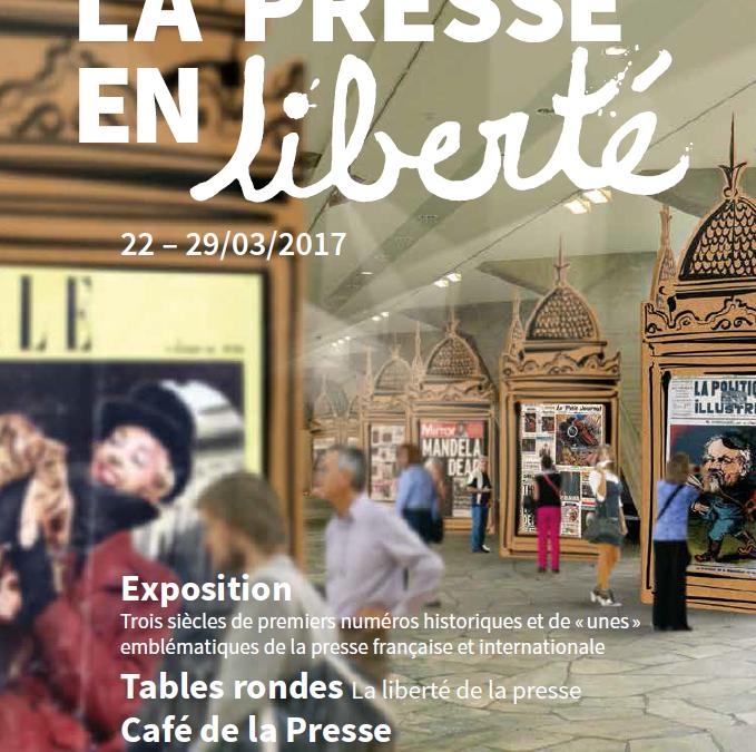 Exposition et rencontre à l'UNESCO «La presse en liberté»